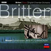 Mozart:Symphonies 41 and 39 by Britten