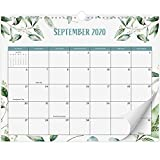 Beautiful 2020-2021 Greenery Wall Calendar 14.5' x 11.5' - 18 Month Wall/Desk Calendar for Easy Planning Until January 2022