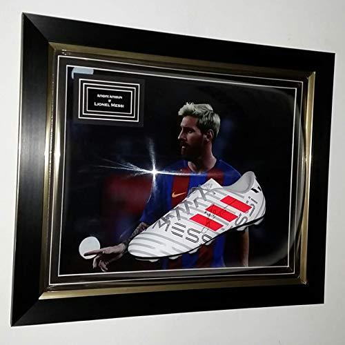 Lionel Messi Signé Rare de Coffre