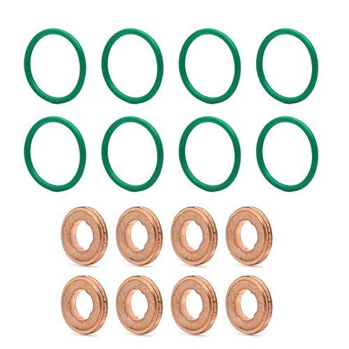 AUTOVIC Injector O-Ring Seal Kit For 2004.5-2010 Durmax LLY LBZ LMM Gaskets O-rings Kits-16pcs
