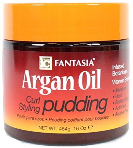 Fantasia Argan Oil Curl Styling Pudding, 16 oz by Fantasia