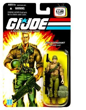 G.I. Joe 25th Anniversary Wave 4 Reissue Duke Action Figure by G. I. Joe