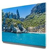 Traumhafte Sardinien-Bilder im Großformat 120x80cm, Bucht