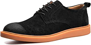 2019 Mens New Lace-up Flats Men's Fashion Oxford Shoes, Casual Comfortable Simple All-Purpose Low-top Formal Shoes