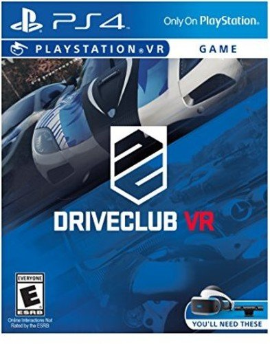 PSVR DriveClub - PlayStation 4(US-Version, Importiertes)
