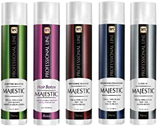 Majestic Hair Botox Hair Smoothing Treatment Complete Kit, 300 ml