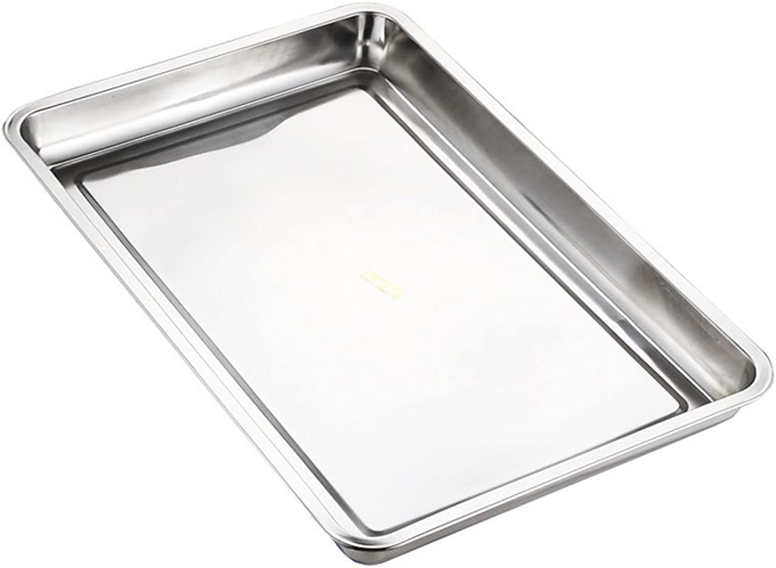 Lianzhi Hotel And Catering Business Stainless Steel Baking Pan Half Thickness 0f 0 5MM 10 63 14 70 0 79