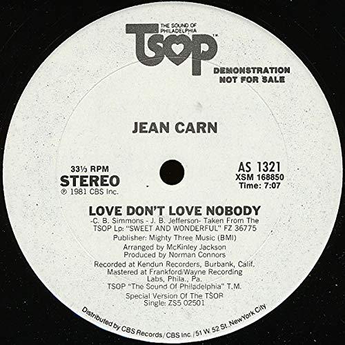 Love Don't Love Nobody - Jean Carn 12