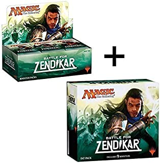 MTG Booster Box + Fat Pack Combo! Battle for Zendikar - BFZ Magic The Gathering