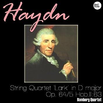 Haydn: String Quartet 'Lark' in D major, Op. 64/5 Hob.III:63