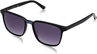 af811517f3 Gant GA7111 Gafas de sol, Negro (Shiny Black/Gradient Smoke), 54.0