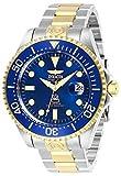 Invicta 27613 Pro Diver Reloj para Hombre acero inoxidable Automático Esfera azul