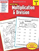 Scholastic Success with Multiplication & Division, Grade 3 (Success With Math)