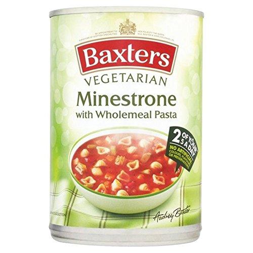 Baxters Soupe Minestrone Végétarienne avec des Pâtes De Blé Entier 400G - Paquet de 6