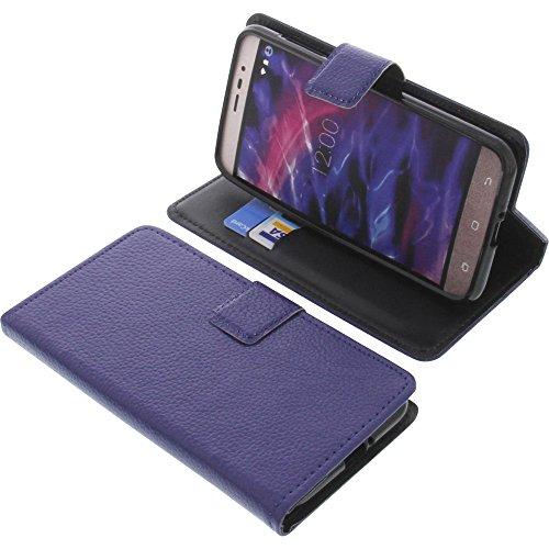 foto-kontor Tasche für MEDION Life P5006 Book Style blau Schutz Hülle Buch