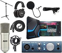 PreSonus AudioBox iOne 2x2 Audio Recording Interface for USB/iPad and iOS Devices Studio Bundle with Studio One Artist Software Pack