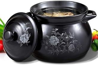 Praktisch Casserole gerechten keramische braadpan huishoudelijke stoofpot pot hittebestendige 2.6L diameter 22,2 cm Geschi...