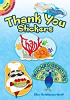 Thank You Stickers (Dover Little Activity Books Stickers)