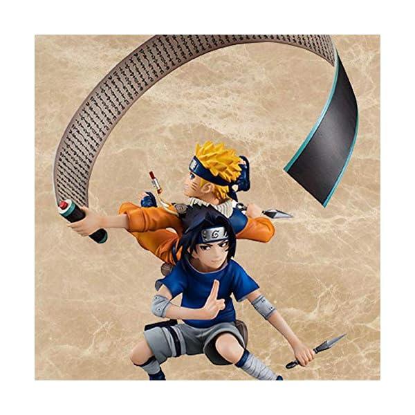 Figura de Uzumaki de Naruto y Sasuke Uchiha, de ALTcompluser Anime de Naruto 3