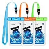 Mpow Waterproof Phone Pouch, Universal Waterproof Case Underwater IPX8 Dry Bag Compatible iPhone 11/11 Pro Max/Xs...