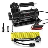 WVIVW Heavy Duty Air Compressor Car air pump Portable Tyre Air Pump T-max 160L per MIN 150PSI Car Air Pump...