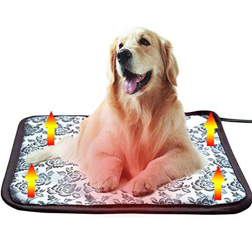 xinpeng Almohadilla Térmica Mascotas, Alfombrilla Manta Eléctrica para Mascotas 3 Niveles de...