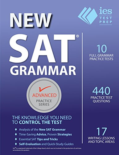 New SAT Grammar Workbook (Advanced Practice Series) (Volume 8)