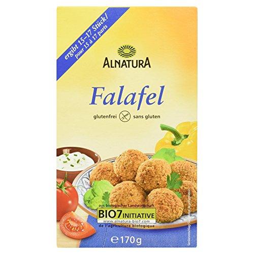 Alnatura Bio Falafel-Mischung, glutenfrei, 6er Pack (6 x 170 g)