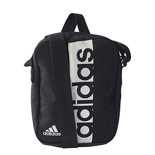 Adidas Lin per Org Mochila, Unisex Adulto, Negro/Blanco, NS