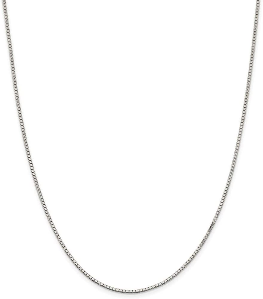 925 Sterling 新商品 新型 Silver Box Chain Necklace Women Jewelry i 発売モデル for Gifts