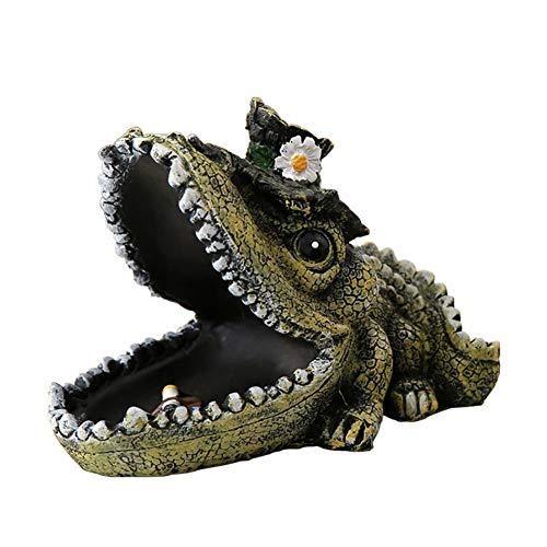 Ashtray creatieve krokodil hars asbak huisdecoratie Ktv koffie kantoor auto accessoires naar vriend geschenken sturen