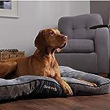 Scruffs 1162 Chester Hunde Kissen, L, grau - 3
