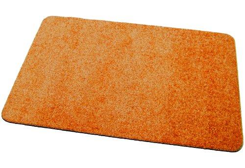 Deko-Matten-Shop Fußmatte Classic, Schmutzfangmatte, rechteckig, 40x60 cm, orange, in 13 Größen und 11 Farben