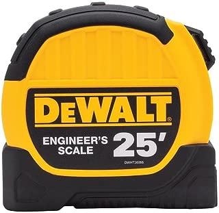 dewalt engineer scale tape measure