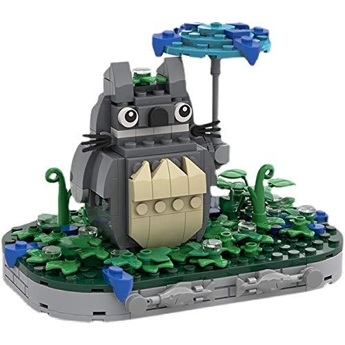 HARTI Ladrillos de montaje Bloques de construcción de juguete, Creador de mi vecino Totoro Guardian 3D Puzzle Modelo Construcción Ladrillos Educativos Juguetes DIY Niños Regalos de Cumpleaños