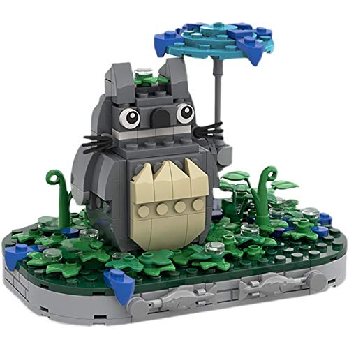 JING Ladrillos De Ensamblaje Juguete De Construcción, Creador Mi Vecino Totoro Guardián Modelo De Rompecabezas 3D Construcción Ladrillos Educativos Juguetes DIY Niños Regalos De Cumpleaños