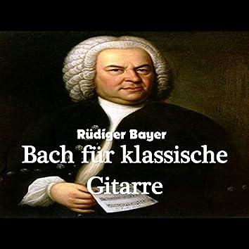 Bach für klassische Gitarre