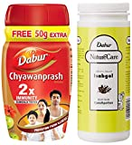Dabur Chyawanprash 2X Immunity - 500g (Get 75 g Free) & Dabur Nature Care Isabgol - 375 g cellulite cremes May, 2021