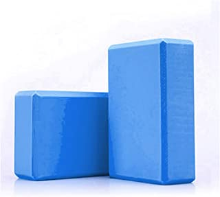 YUUWA ヨガブロック ヨガワークス 2個セット/1個セット ボディシェーピング 高密度EVA 軽量 耐臭性 防湿性 ポーズ補助