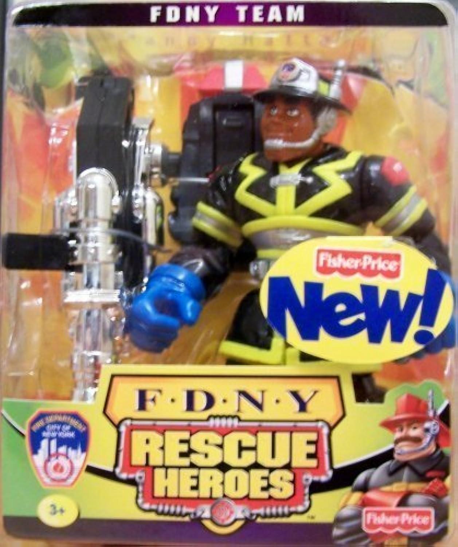 tienda en linea Rescue Rescue Rescue Heroes FDNY Team Manny Hattan by Rescue Hero  la red entera más baja