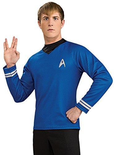 Costume Star Trek - version de luxe - sous licence - homme - bleu - taille XL