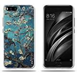 FUBAODA Funda de Silicona para para Xiaomi Mi6, Hermoso Dibujo de Relieve, Gel de Silicona TPU, Carcasa Completamente Resistente para para Xiaomi Mi6 (2017)