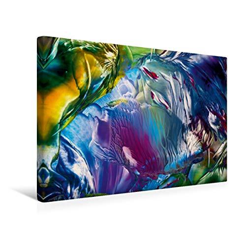 Premium - Lienzo de tela (45 x 30 cm, horizontal, imagen en la bosque mágico) estas cosas para descubrir. (CALVENDO Kunst);CALVENDO Arte