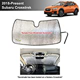 YelloPro Custom Fit Automotive Reflective Front Windshield Sunshade Accessories UV Reflector Sun Protection for 2018 2019 2020 2021 Subaru Crosstrek, 2.0i Premium Limited Wagon [Made in USA]