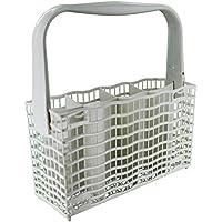 Electrolux genuino original multi-Model montaje completo plástico–Cubertero para lavavajillas para AEG/Electrolux/Elektro Helios/Privileg/Rex/ZANUSSI, color blanco