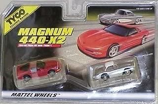 TYCO HO Scale Corvette 2 Pack Slot Car Set