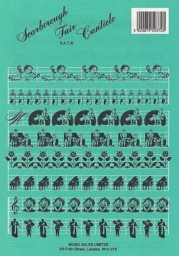 Simon And Garfunkel: Scarborough Fair/Canticle (SATB/Piano). Partituras para SATB, Acompañamiento de Piano
