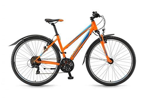 Winora Grenada Damen 28Zoll 21Gang TY300 17 RH 41 orange blau ca. 15kg