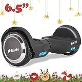 Patinete eléctrico Hoverboard, 6.5' antipinchazos, LEDS,Potente batería de...