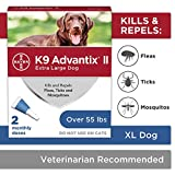 K9 Advantix II Flea And Tick Prevention for Dogs, Dog Flea And Tick...
